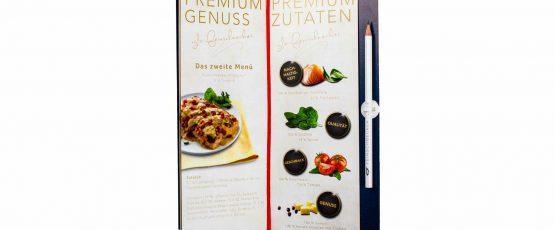 Broschüre mit Lesezeichenband drucken