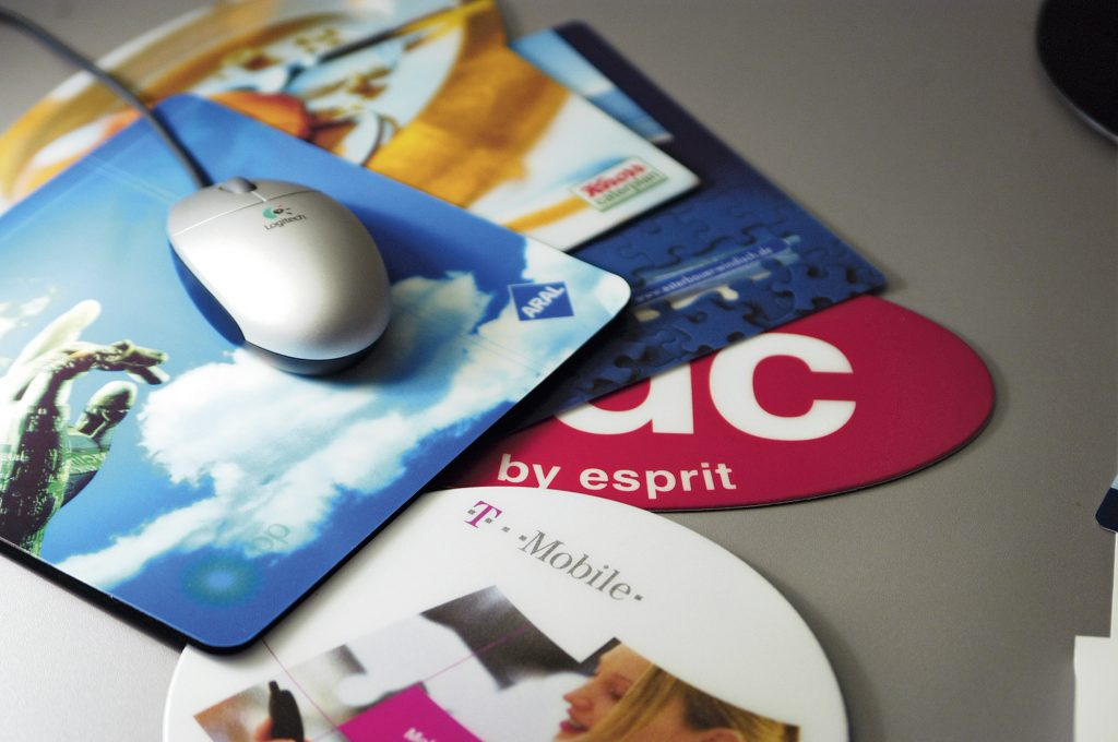 Mousepad als Werbemittel drucken