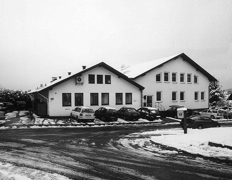 Historisches Firmengebäude der Druckerei Vogt