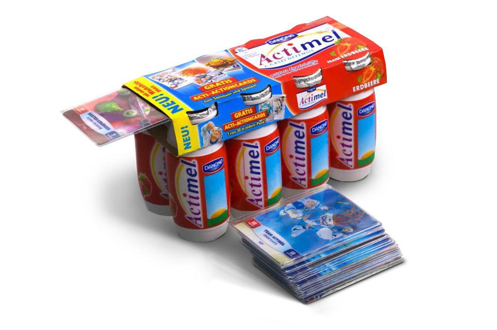 Sammelbilder und Sammelkarten als Werbemittel drucken