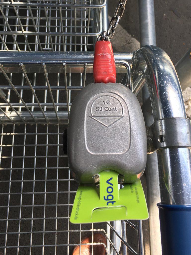 Werbeartikel-Einkaufswagen-chip CoinCards drucken