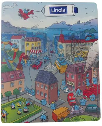 Give-aways - Auch mit Farbe konform der Spielzeugrichtlinie DIN EN71